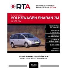 E-RTA Volkswagen Sharan I MONOSPACE 5 portes de 10/1995 à 06/2000