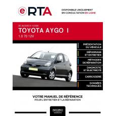 E-RTA Toyota Aygo I HAYON 3 portes de 06/2005 à 11/2009