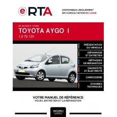 E-RTA Toyota Aygo I HAYON 5 portes de 06/2005 à 11/2009