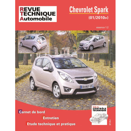 CHEVROLET SPARK 1.0 16V 68 ch. (depuis 01/2010)
