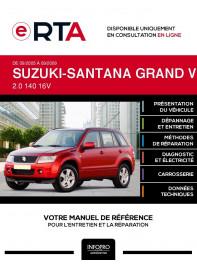 E-RTA Suzuki-santana Grand vitara II BREAK 5 portes de 09/2005 à 09/2009