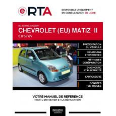 E-RTA Chevrolet (eu) Matiz II HAYON 5 portes de 06/2005 à 09/2009