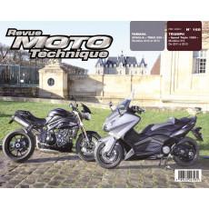 RMT 168 TRIUMPH SPEED TRIPLE (2011 à 2013) - YAMAHA T-MAX 530 (2012 à 2013)