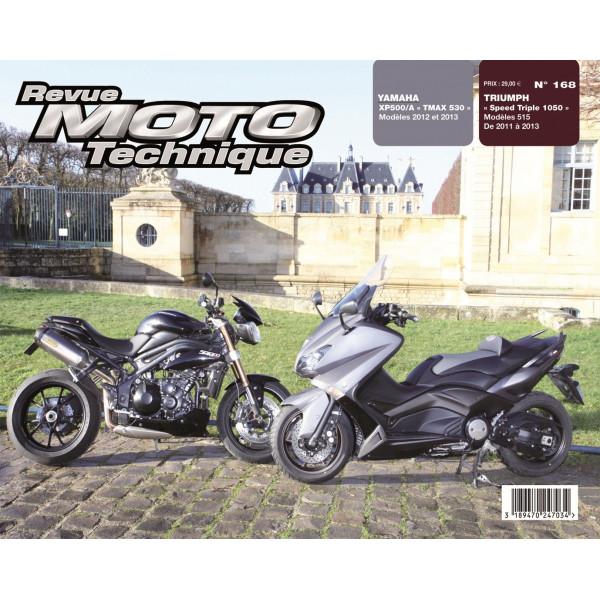 revue moto technique triumph speed triple 1050 et yamaha tmax 530 etai. Black Bedroom Furniture Sets. Home Design Ideas