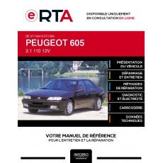 E-RTA Peugeot 605 BERLINE 4 portes de 07/1994 à 07/1999