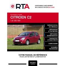 E-RTA Citroen C2 HAYON 3 portes de 09/2003 à 10/2008