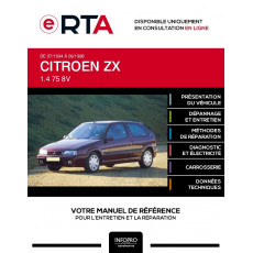 E-RTA Citroen Zx HAYON 3 portes de 07/1994 à 06/1998