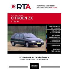 E-RTA Citroen Zx HAYON 5 portes de 07/1994 à 06/1998