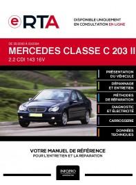 E-RTA Mercedes Classe c II BERLINE 4 portes de 05/2000 à 03/2004