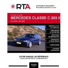 E-RTA Mercedes Classe c II BREAK 5 portes de 03/2001 à 03/2004