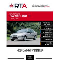 E-RTA Rover 400 II BERLINE 4 portes de 02/1999 à 04/2000