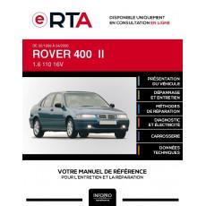 E-RTA Rover 400 II HAYON 5 portes de 02/1999 à 04/2000