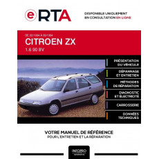 E-RTA Citroen Zx BREAK 5 portes de 02/1994 à 06/1994