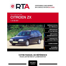 E-RTA Citroen Zx BREAK 5 portes de 07/1994 à 06/1998