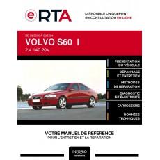 E-RTA Volvo S60 I BERLINE 4 portes de 09/2000 à 06/2004