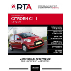 E-RTA Citroen C1 I HAYON 5 portes de 11/2008 à 01/2012