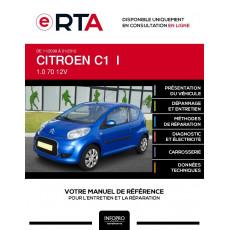 E-RTA Citroen C1 I HAYON 3 portes de 11/2008 à 01/2012