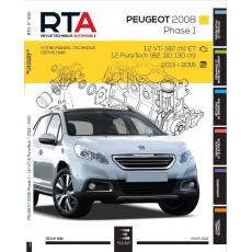 RTA 835 PEUGEOT 2008 I PHASE 1 (2013 à 2017)
