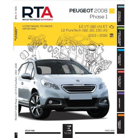 RTA 835 - Peugeot 2008 - Phase 1