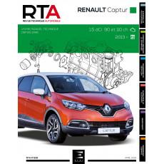 RTA 836 RENAULT CAPTUR Phase 1 (2013 à 2017)