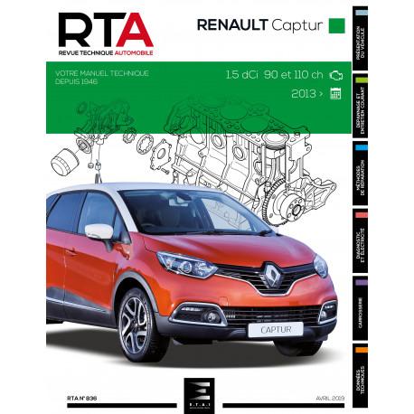 RTA 836 - RENAULT Captur (depuis 2013)