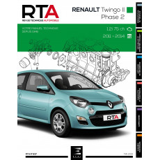 RTA 837 RENAULT TWINGO II PHASE 2 (2011 à 2014) - Essence