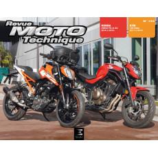 RMT 193 KTM DUKE 125 (2017 à 2019) + HONDA CB500FA&XA & CBR500RA (2016 à 2018)