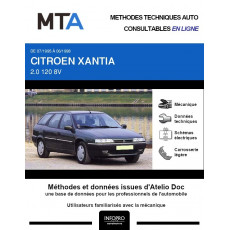 MTA Citroen Xantia BREAK 5 portes de 07/1995 à 06/1998
