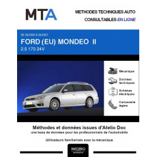 MTA Ford (eu) Mondeo II BREAK 5 portes de 09/2000 à 06/2007