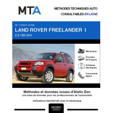 MTA Land rover Freelander I BREAK 3 portes de 11/2003 à 12/2006
