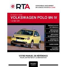 E-RTA Volkswagen Polo IV HAYON 5 portes de 05/2004 à 12/2005