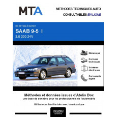 MTA Saab 9-5 I BREAK 5 portes de 03/1999 à 06/2001