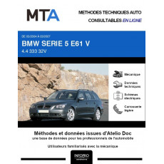 MTA Bmw Serie 5 V BREAK 5 portes de 03/2004 à 03/2007