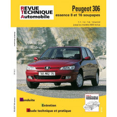 Revue Technique Automobile Peugeot 306 Essence