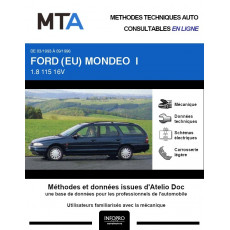 MTA Ford (eu) Mondeo I BREAK 5 portes de 03/1993 à 09/1996