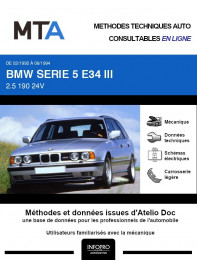 MTA Bmw Serie 5 III BREAK 5 portes de 02/1992 à 06/1994