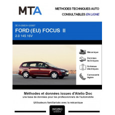 MTA Ford (eu) Focus II BREAK 5 portes de 01/2005 à 12/2007