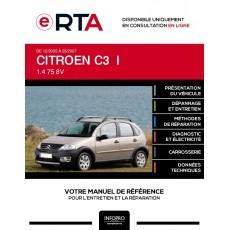 E-RTA Citroen C3 I HAYON 5 portes de 10/2005 à 05/2007