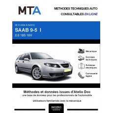 MTA Saab 9-5 I BREAK 5 portes de 01/2006 à 09/2010