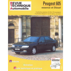 Revue Technique Automobile Peugeot 605