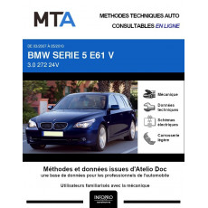 MTA Bmw Serie 5 V BREAK 5 portes de 03/2007 à 05/2010