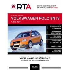 E-RTA Volkswagen Polo IV HAYON 5 portes de 03/2006 à 09/2009