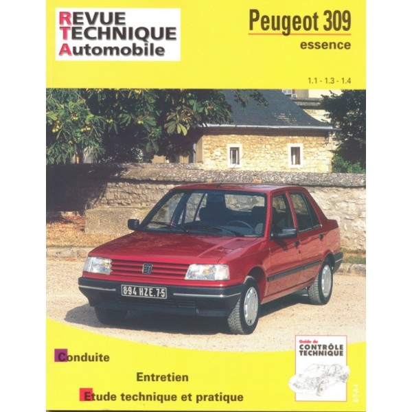 Revue Technique Peugeot 309 essence