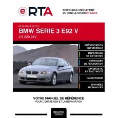 E-RTA Bmw Serie 3 V COUPE 2 portes de 09/2006 à 03/2010
