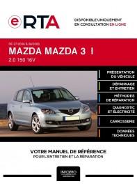 E-RTA Mazda Mazda 3 I HAYON 5 portes de 07/2006 à 06/2009