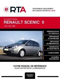 E-RTA Renault Scenic II MONOSPACE 5 portes de 09/2006 à 04/2009