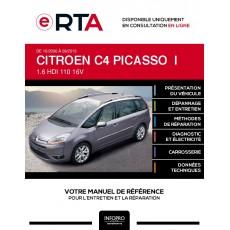 E-RTA Citroen C4 picasso I MONOSPACE 5 portes de 10/2006 à 09/2013