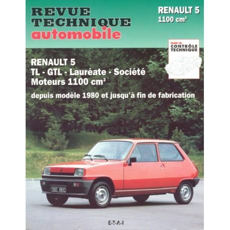 RENAULT 5 TL et GTL