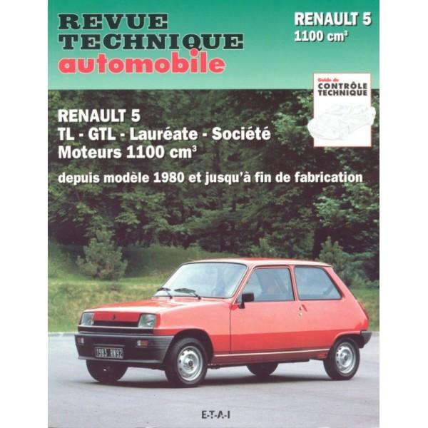 Revue Technique Renault 5 tl et gtl