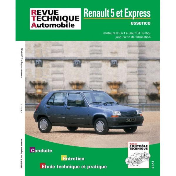 Revue Technique Renault 5 et express 2